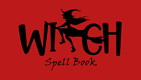 Witch spell book